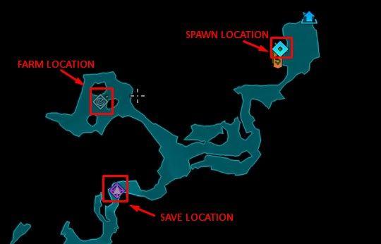 Flipper get or farm map location minosaur