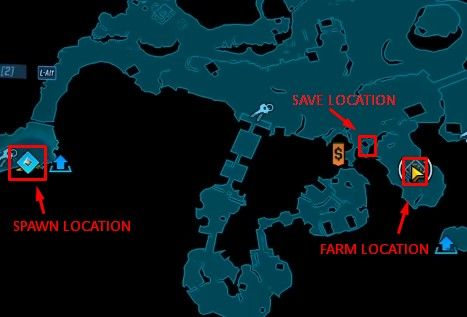 satisfaction farm and save map location bl3