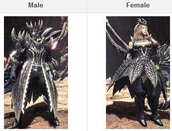 mhw iceborne armors appearence
