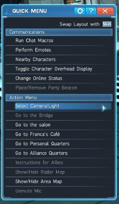 How to enable Screenshot Mode in-game 2